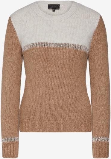 Herrlicher Pullover 'ISALIE' in beige / dunkelbeige, Produktansicht