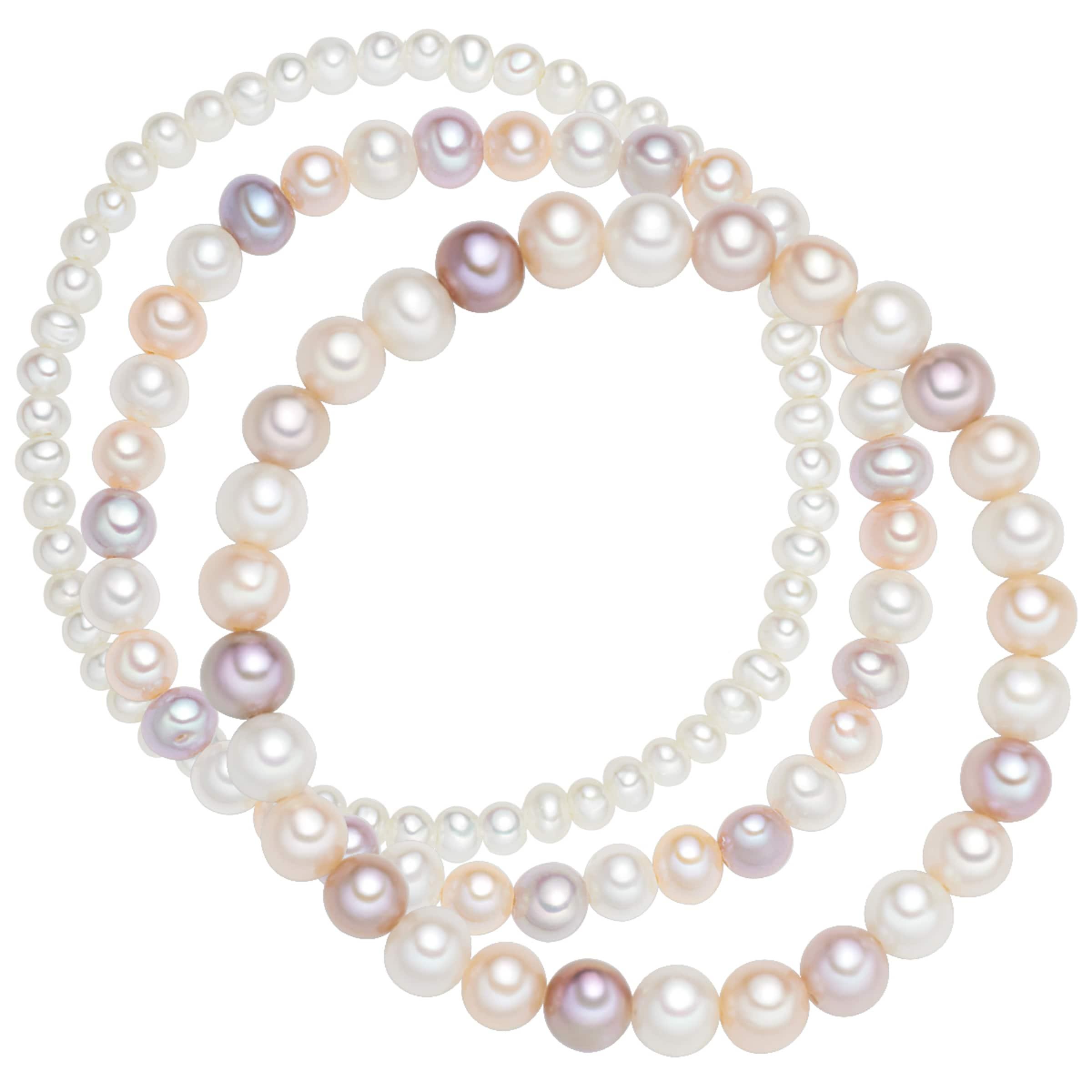 Auslass Bilder Outlet Billige Qualität Valero Pearls Armband 3er-Set mit Perlenbesatz Bestpreis 2018 Neue 3134eOFjB