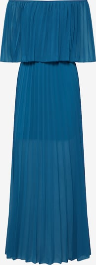 Carolina Cavour Kleid 'Maxi Crinckle dress with elastic Boat Neck and elastic Waist' in hellblau, Produktansicht