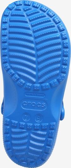 Crocs Clogs 'Classic' in de kleur Blauw: Onderaanzicht