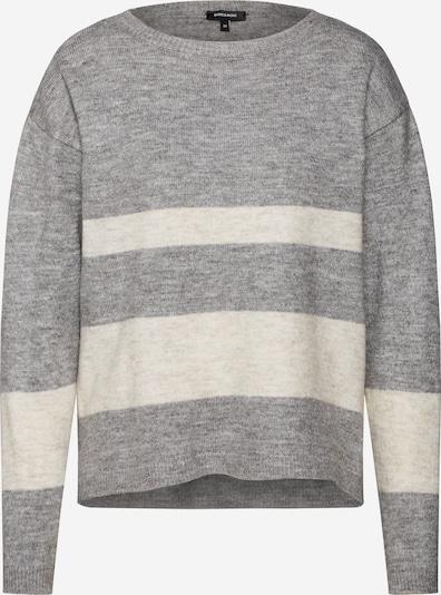 MORE & MORE Pullover in beige / graumeliert, Produktansicht