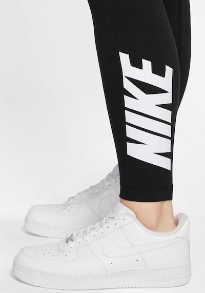 Nike Sportswear Leggings en noir, Vue avec produit