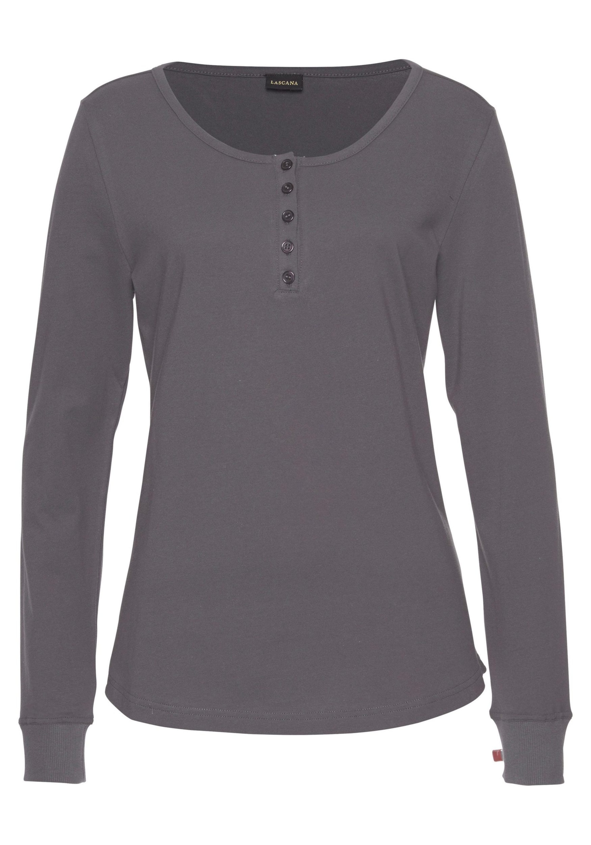 Shirt In In Dunkelgrau Lascana Dunkelgrau Lascana Shirt Lascana yvNn08POmw