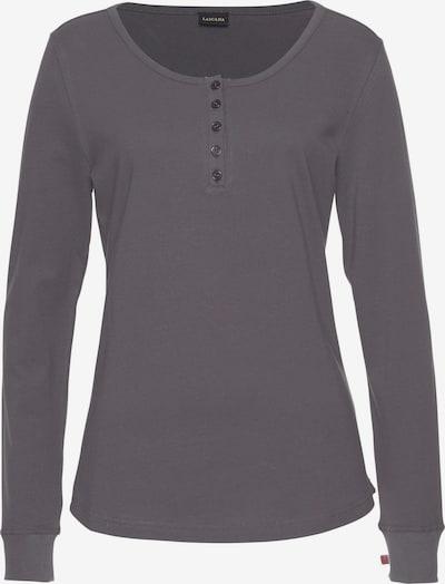 LASCANA Shirt in dunkelgrau, Produktansicht