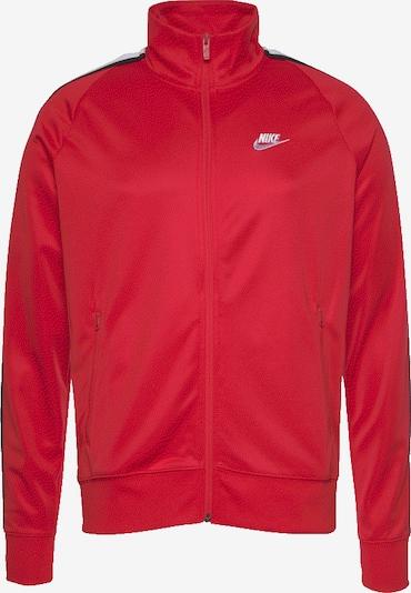 Nike Sportswear Sweatjacke 'HE JKT PK N98 Tribute' in rot, Produktansicht