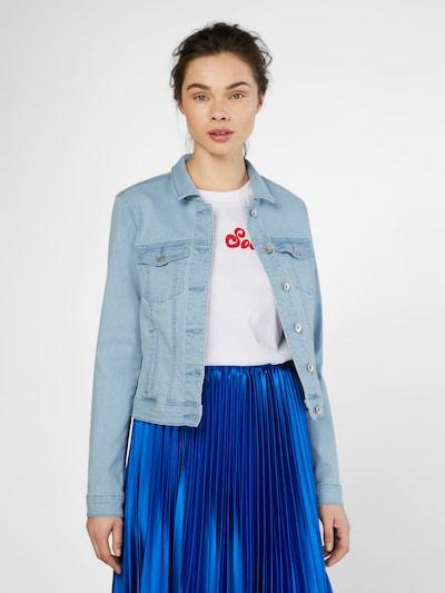VERO MODA Jeansjacke 'HOT SOYA' in blau: Frontalansicht