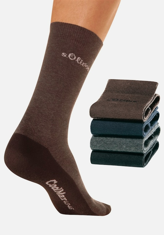 s.Oliver RED LABEL Herrensocken (4 Paar)