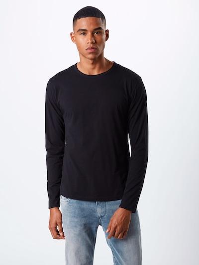 Tricou 'YOSHI' DRYKORN pe negru, Vizualizare model