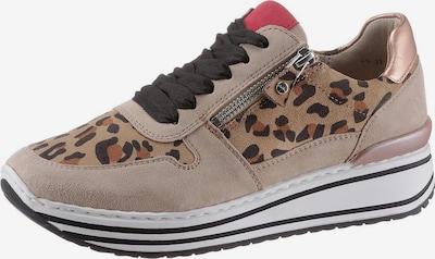 ARA Sneaker in beige / braun, Produktansicht