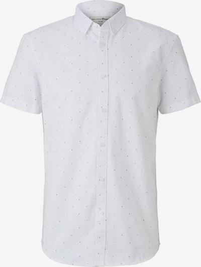 TOM TAILOR DENIM Hemd in schwarz / weiß, Produktansicht