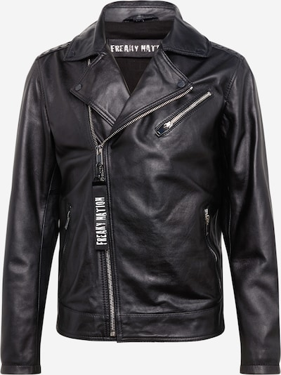 FREAKY NATION Lederjacke 'Black Select' in schwarz, Produktansicht