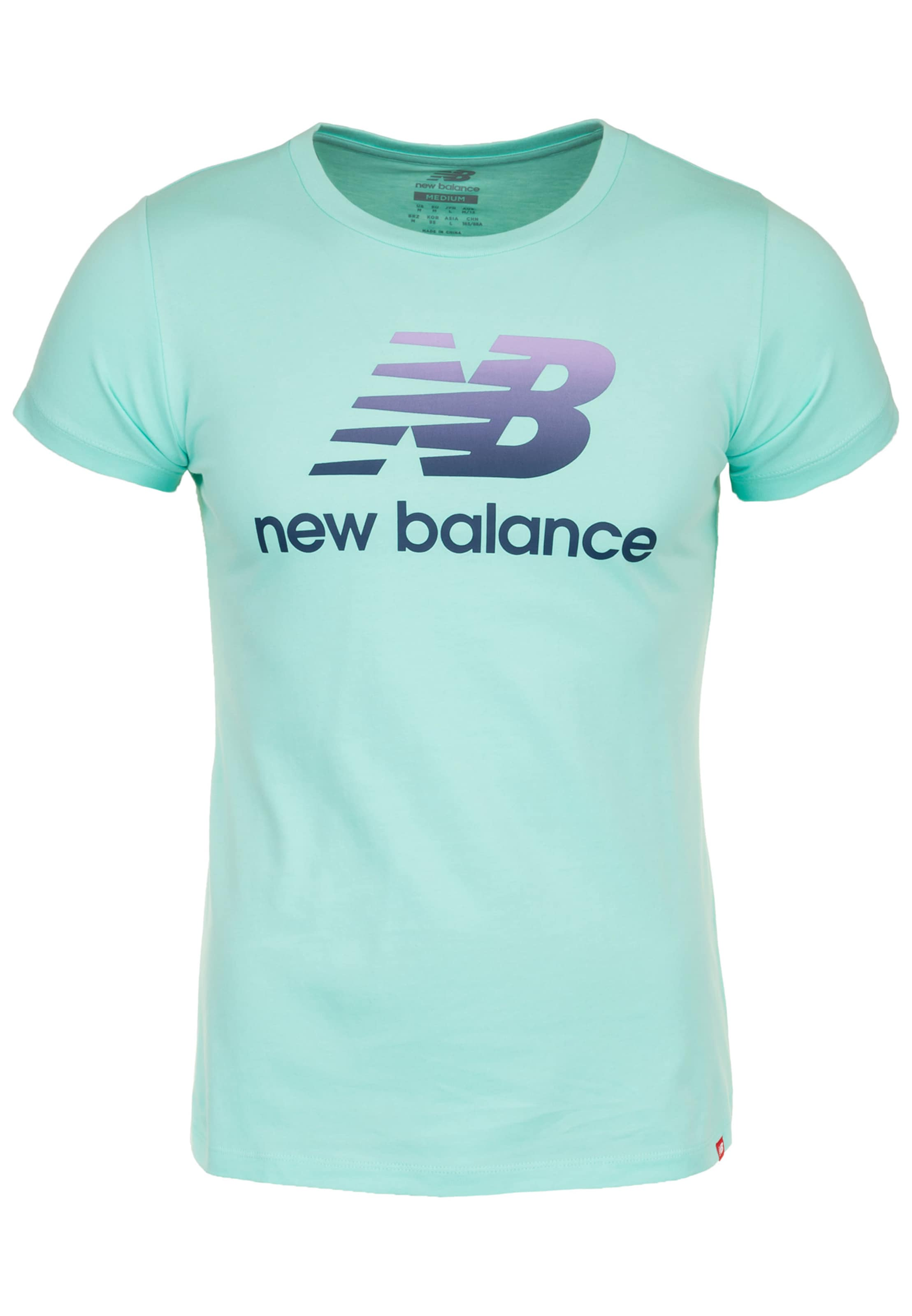New In Balance Shirt Shirt Balance AquaMischfarben New Tc5lJF3uK1