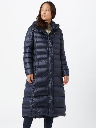 Blauer.USA Manteau d'hiver en bleu marine: Vue de face