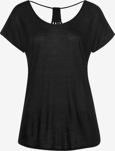 LASCANA T-Shirt in schwarz, Produktansicht