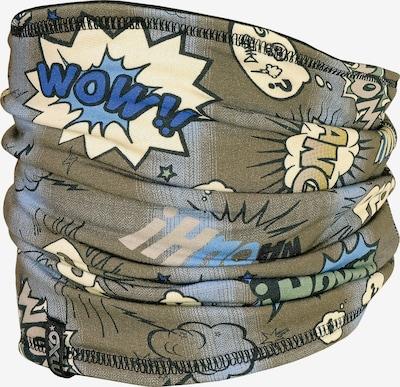 MAXIMO Schlauchschal in blau / pastellgelb / khaki, Produktansicht