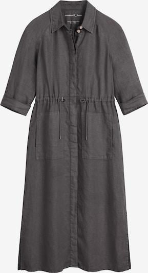 Sandwich Kleid in anthrazit, Produktansicht