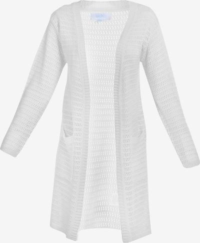 Usha Oversized vest in de kleur Wit, Productweergave