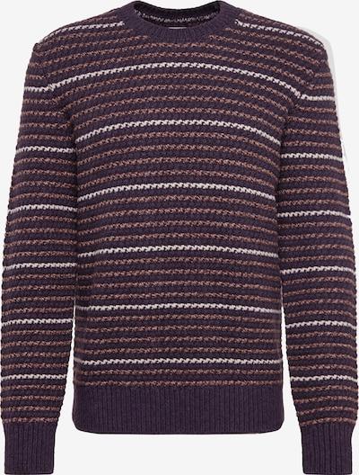 GAP Sweter 'TXTR STRP CREW' w kolorze szarym, Podgląd produktu