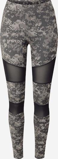 Urban Classics Curvy Leggings in grau / schwarz, Produktansicht