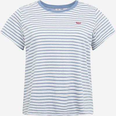 Levi's® Plus T-Shirt in blau / weiß, Produktansicht