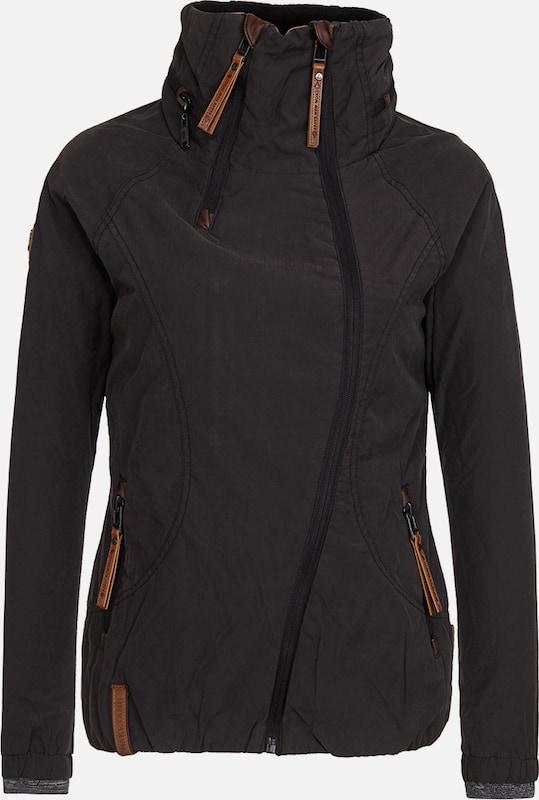 Naketano Jacke 'Forrester' in schwarz  Mode neue Kleidung