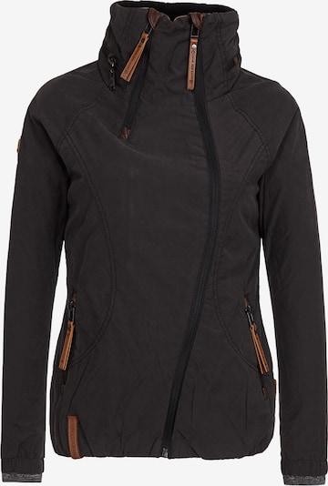 naketano Tussenjas 'Forrester' in de kleur Zwart, Productweergave