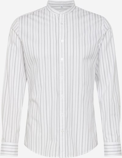 SEIDENSTICKER Overhemd 'Mandarin' in de kleur Donkerblauw / Wit, Productweergave