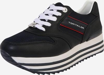 TOM TAILOR Sneaker in rot / schwarz, Produktansicht