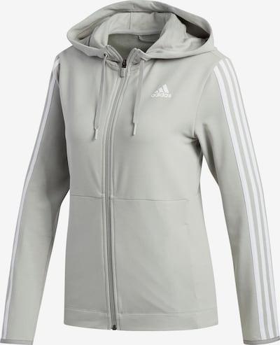 ADIDAS PERFORMANCE Sporta jaka ar kapuci pieejami gaiši pelēks, Preces skats