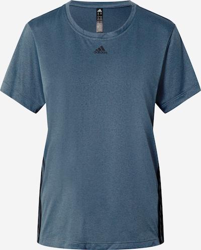Sportiniai marškinėliai iš ADIDAS PERFORMANCE , spalva - tamsiai mėlyna / juoda, Prekių apžvalga