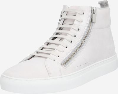 HUGO Sneaker 'Futurism_Hito_nuzp1' in hellgrau / weiß, Produktansicht