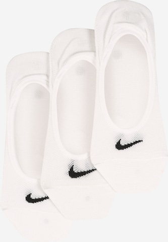 NIKE Athletic Socks 'Lightweight No-Show' in White