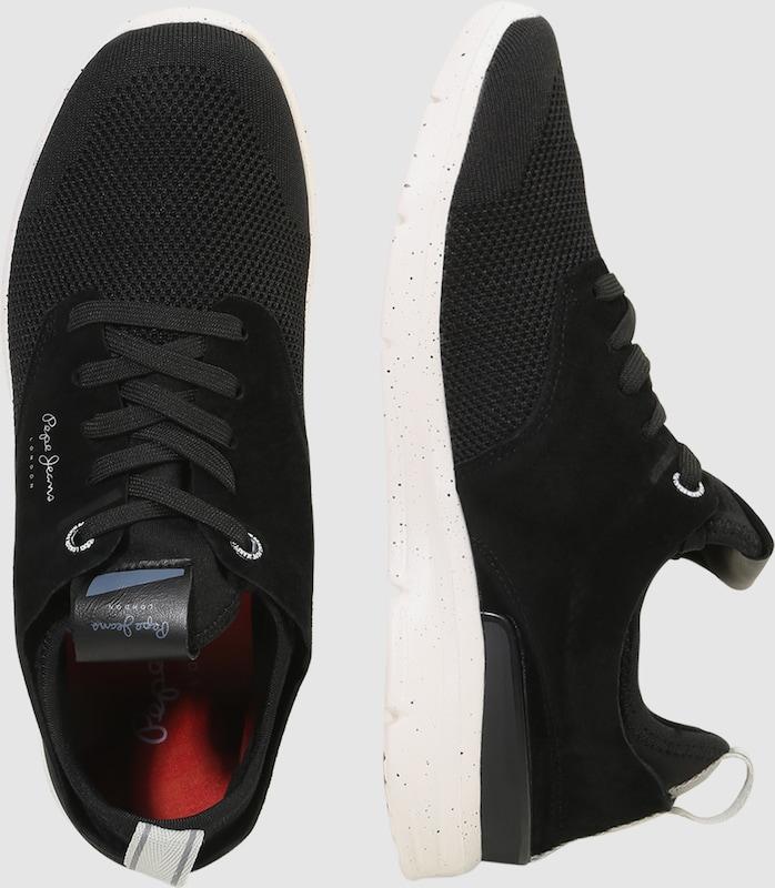 Pepe Jeans Velours-Details Sneaker 'JAYDEN TECH' mit Velours-Details Jeans 430ae1
