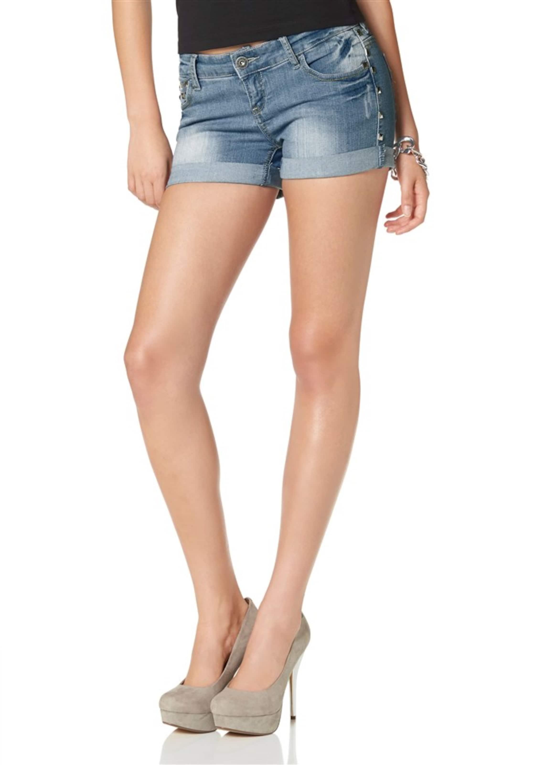 Kaufen Günstig Online MELROSE Jeansshorts Günstigsten Preis Günstig Online Günstig Kaufen Auslassstellen hxRjhAbzS