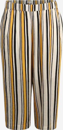 MY TRUE ME Hose in gelb / schwarz / weiß, Produktansicht
