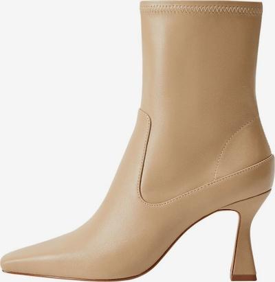 MANGO Halbstielfel 'Aire' in beige, Produktansicht