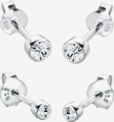 Boucles d'oreilles - ELLI en argent