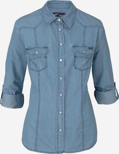 ARIZONA Jeansbluse in blue denim, Produktansicht