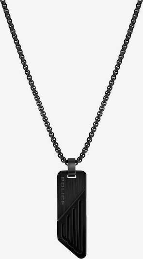 POLICE Kette in schwarz, Produktansicht