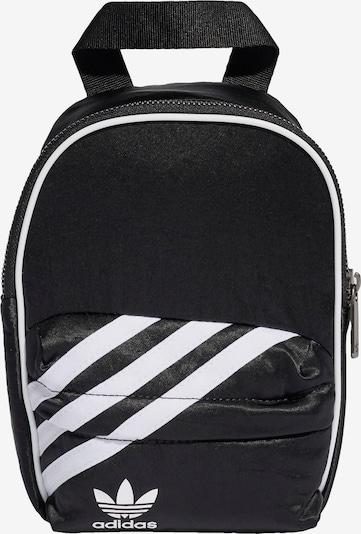 ADIDAS ORIGINALS Rugzak in de kleur Zwart / Wit: Vooraanzicht