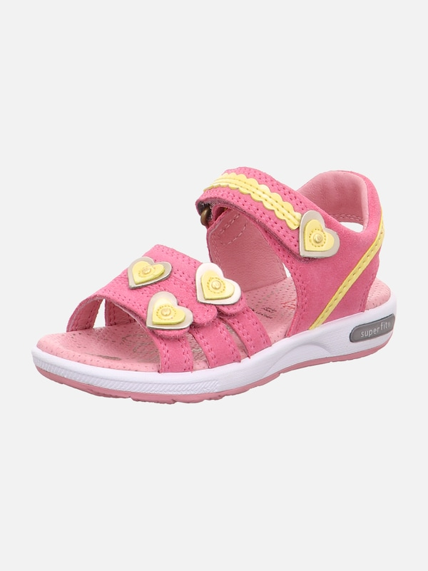 SUPERFIT Sandalen 'EMILY' in gelb rosa | ABOUT YOU