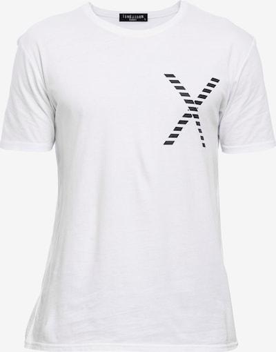 Tom Barron Rundhalsshirt in schwarz / weiß, Produktansicht