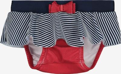 STEIFF Schwimmwindel in nachtblau / rot / weiß, Produktansicht