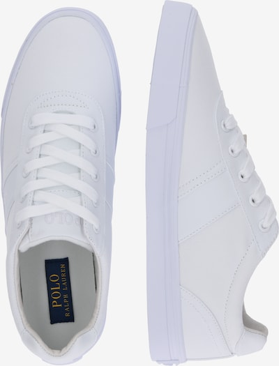 Sneaker low 'Hanford Canvas' POLO RALPH LAUREN pe alb: Privire laterală