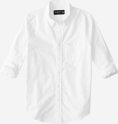 Abercrombie & Fitch Hemd 'ICON CORE OXFORD' in weiß, Produktansicht