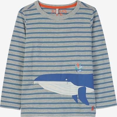 Tom Joule Shirt 'Zipadee' in himmelblau / grau, Produktansicht