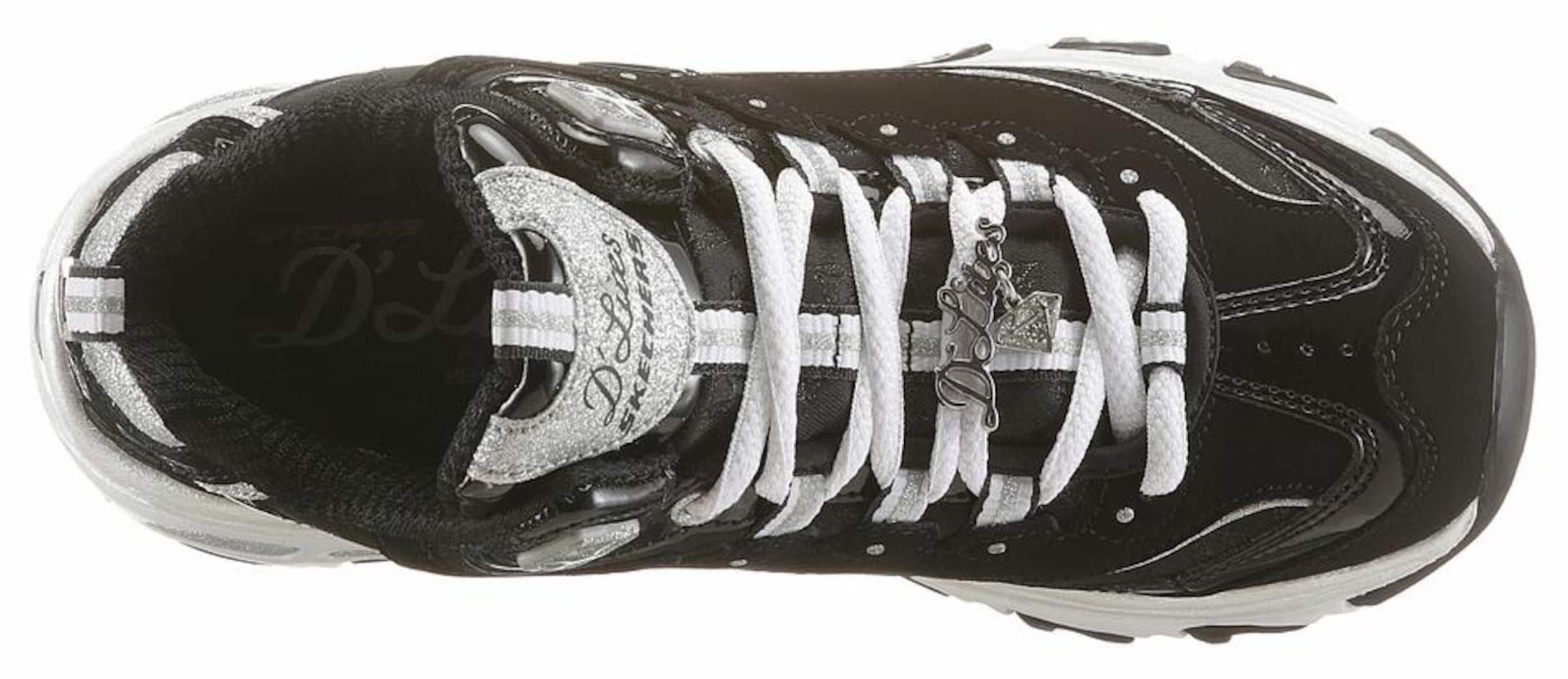 Auslasszwischenraum Steckdose Authentisch SKECHERS Schnürschuh 'D'Lites Style Revamp' 05I25qGKJe