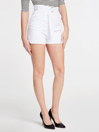 GUESS Shorts in weiß: Frontalansicht