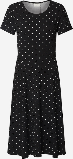 fekete / fehér Kaffe Nyári ruhák 'KAhazel Jersey Dress', Termék nézet