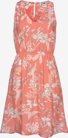 TAMARIS Kleid in koralle / weiß, Produktansicht
